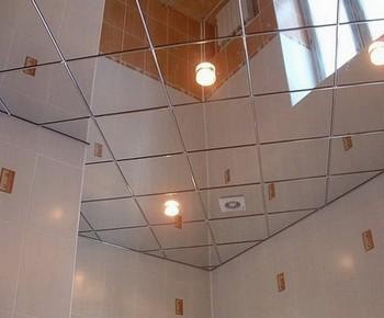 монтаж кассетного потолка