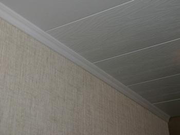 Монтаж потолочных панелей