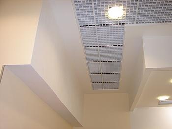 Установка потолков из гипсокартона