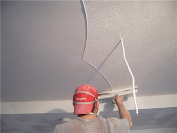 Шпаклевка потолка в квартире