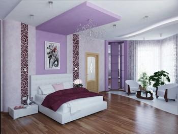 Ремонт пола в спальной комнате