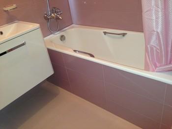 ремонт пола в ванной