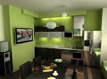 недорогой ремонт на кухне