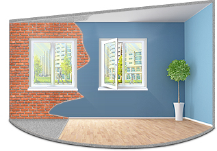 Отделка квартир и помещений