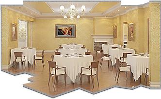 Ремонт ресторанов и кафе в москве